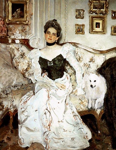 Портрет княгини Зинаиды Николаевны Юсуповой. 1902 г. Серов Валентин Александрович